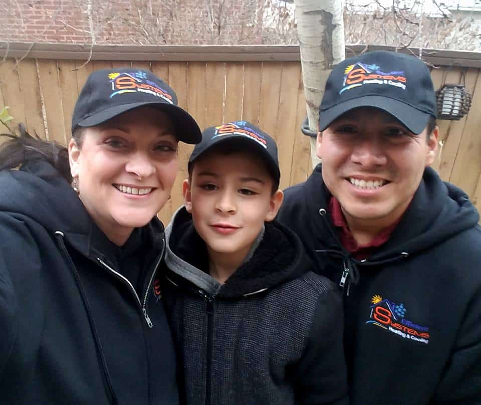 William and family - the owners of Efficient Systems that offers professional HVAC services in Salt Lake County, UT