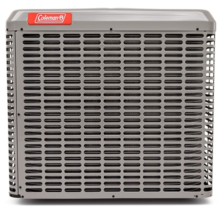Outdoor unit of a Coleman split-type air conditioner