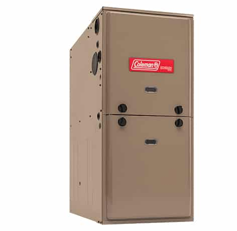 Coleman furnace with high efficiency and Energy Star rating