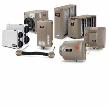 Humidifiers and indoor air quality products offered at Efficient Systems Heating & Cooling, Murray, UT