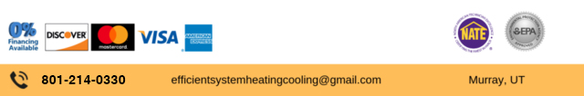 Efficient Systems Heating & Cooling Payment Options